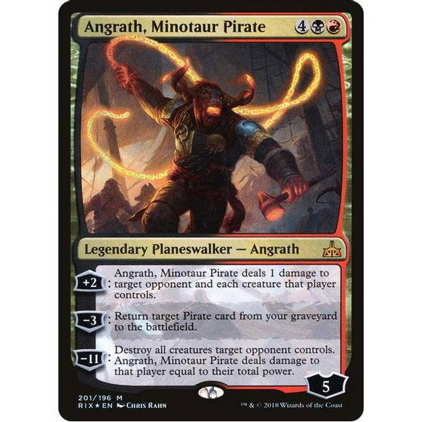 Bilde av Angrath, Minotaur Pirate